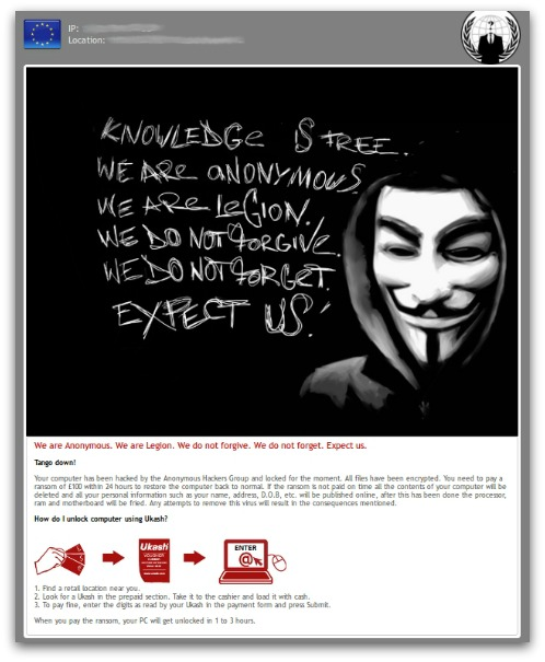 Anonymous ransomware. Click for larger version