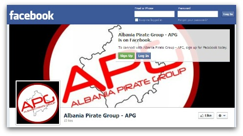 APG Facebook page