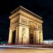Arc de Triomphe. Image from Shutterstock