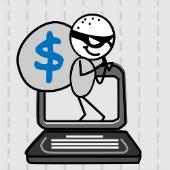 Hacker thief, courtesy of Shutterstock