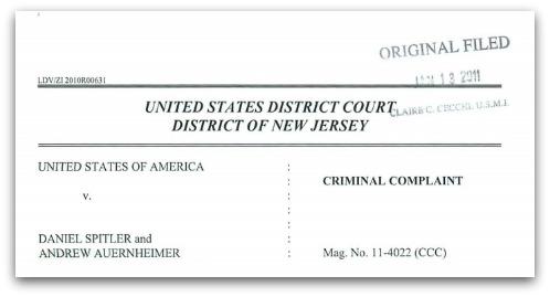 Criminal complaint PDF