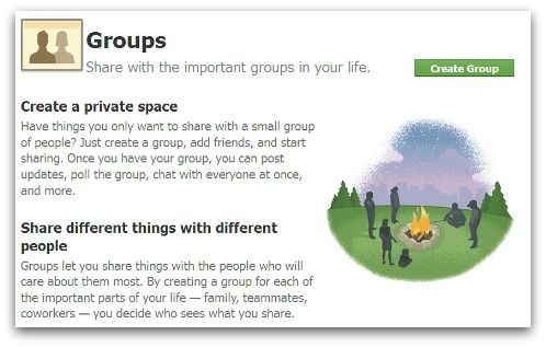 Facebook Groups information