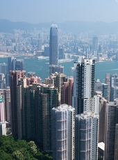 Hong Kong skyline. Image from Shutterstock