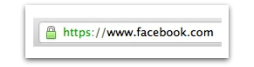 Accessing Facebook with HTTPS enabled