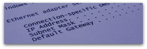 IP address. Image from Shutterstock