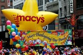 Macy's Thanksgiving Parade, courtesy of Shutterstock
