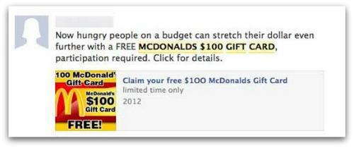 McDonald's scam