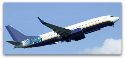 TNS24 Plane