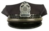 Police hat, courtesy of Shutterstock