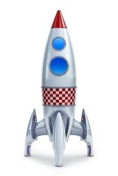 Rocket. Image from Shutterstock