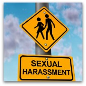 Sexual harassment. Image from Shutterstock