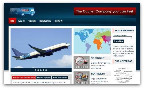 TNS24 website