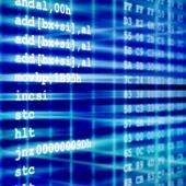 Assembler code. Image from Shutterstock