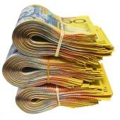 Australian money, courtesy of Shutterstock
