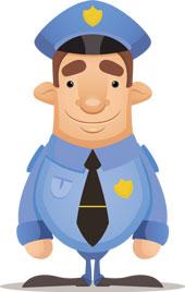 Police officer, courtesy of Shutterstock