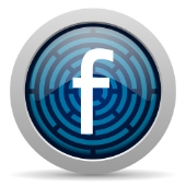 Facebook icon. Image from Shutterstock