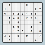 A little Sudoku for you