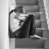Upset girl. Image from Shutterstock