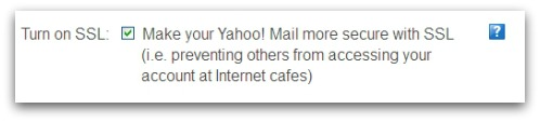 Https enabled on a Yahoo Mail account