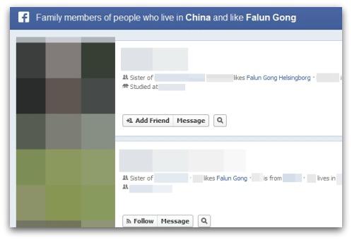 Chinese who like Falun Gong