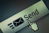 Send button. Image from Shutterstock