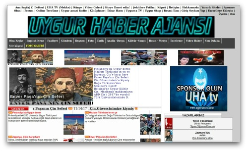 Uyghur website