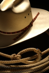 White cowboy hat. Image from Shutterstock