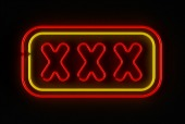XXX sign, courtesy of Shutterstock