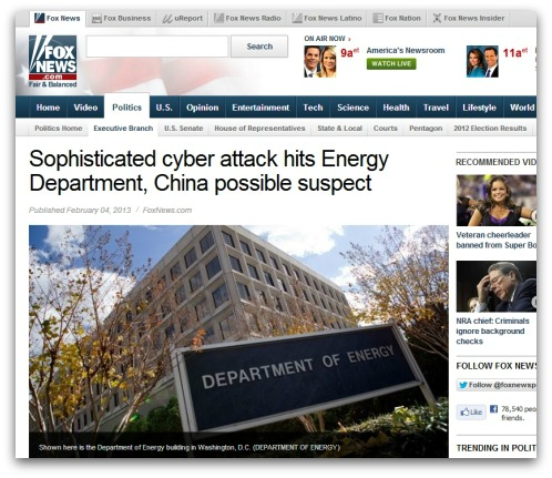 Fox News report