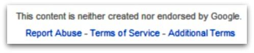 Google Docs small print