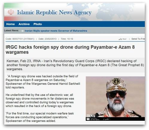 Iranian news story
