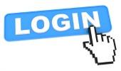 Login button, courtesy of Shutterstock