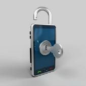 Mobile phone locked