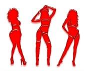 Red girls, courtesy of Shutterstock