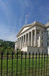 Treasury building. Image from Shutterstock