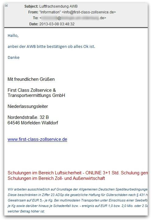 AWB malware