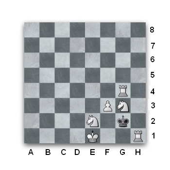 Chess puzzle. White to play, mate in two.