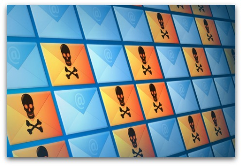 Wall of email. Image from Shutterstock