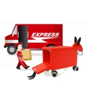 Express delivery of a Trojan horse