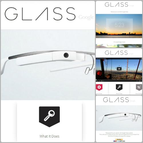 Google Glass - pre-order website