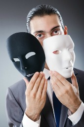 Multiple identities. Image from Shutterstock.