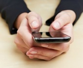 Using smartphone. Image from Shutterstock