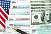 US tax refund form. Image from Shutterstock