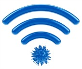 Unsecured wifi. Image from Shutterstock.