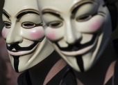 Anonymous two faces. Image from Shutterstock