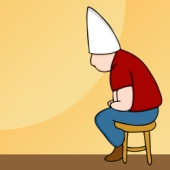 Dunce's hat. Image from Shutterstock