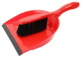 Dustpan and brush. Image courtesy of Shutterstock.