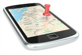 Location smartphone. Image from Shutterstock