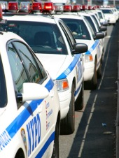 NYPD cop cars. Image from Shutterstock