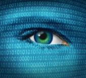Binary eye. Image from Shutterstock